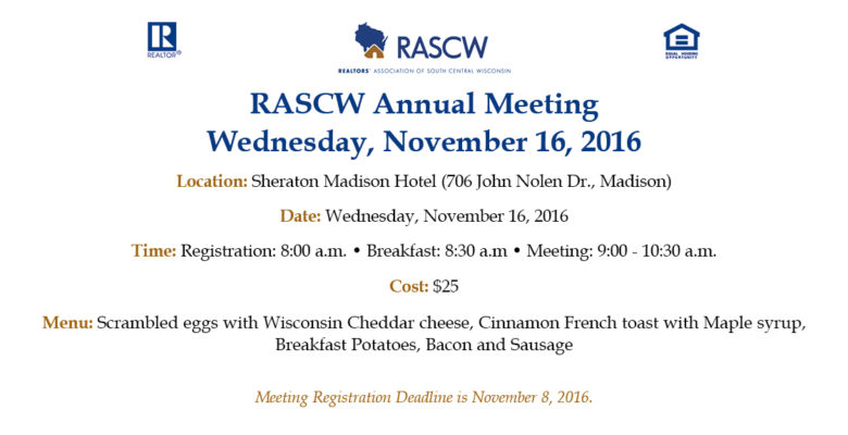Annual Meeting Promotion