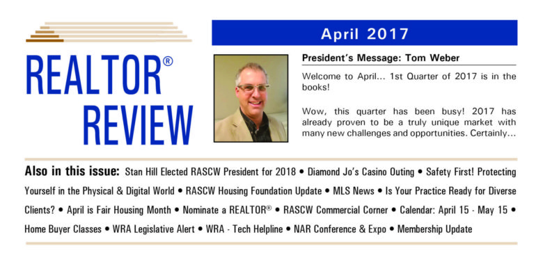 April 2017 Realtor Review Newsletter